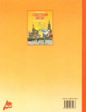 Verso de Jacques Gallard (Une aventure de) -2- Soviet Zig Zag