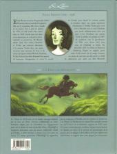 Verso de Les hauts de Hurlevent -1- Volume 1