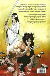 Verso de Wolverine : Logan