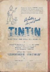Verso de (Recueil) Tintin (Album du journal - Édition française) -12- Tintin album du journal