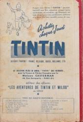 Verso de (Recueil) Tintin (Album du journal - Édition française) -25- Tintin album du journal