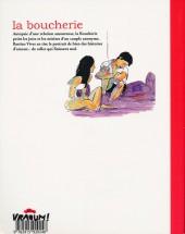 Verso de La boucherie (Vivès) - La Boucherie