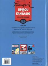 Verso de Spirou et Fantasio -6- (Int. Dupuis 2) -7- Le mythe Zorglub (1959-1960)
