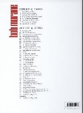 Verso de Bob Morane 3 (Lombard) -64- Les dents du tigre (1)