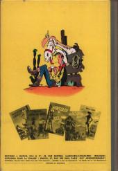 Verso de Lucky Luke -9'- Des rails sur la prairie