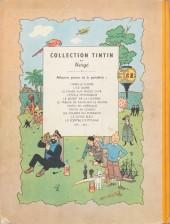 Verso de Tintin (Historique) -12B01- Le trésor de Rackham Le Rouge