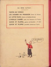 Verso de Tintin (Historique) -3A04- Tintin en Amérique