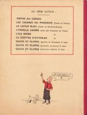 Verso de Tintin (Historique) -3A08- Tintin en Amérique