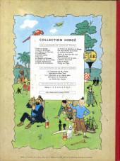 Verso de Tintin (Historique) -4B29- Les cigares du Pharaon