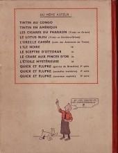Verso de Tintin (Historique) -9A18- Le crabe aux pinces d'or