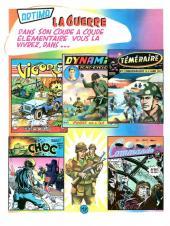 Verso de Commando (1re série - Artima) -1- Pousser des boutons