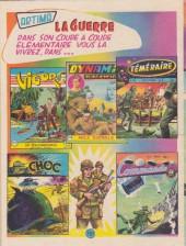 Verso de Commando (1re série - Artima) -2- Ligne de tir