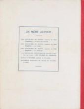 Verso de Quick et Flupke -2- (Casterman, N&B) -3- Quick et Flupke gamins de Bruxelles (3e série)