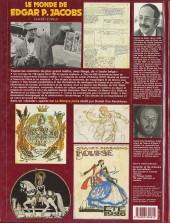 Verso de (AUT) Jacobs, Edgar P. -4- Le Monde de Edgar P. Jacobs