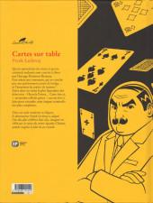 Verso de Agatha Christie (Emmanuel Proust Éditions) -16- Cartes sur table