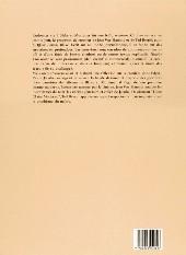 Verso de Blake et Mortimer (Divers) -13HS- L'Affaire Francis Blake - Blake et Mortimer [histoire d'un retour] - Entretiens avec Jean Van Hamme et Ted Benoit