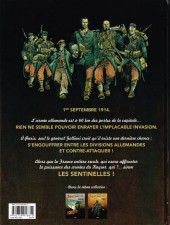 Verso de Les sentinelles (Breccia/Dorison) -2- Chapitre deuxième : Septembre 1914 La Marne