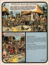 Verso de Bruxelles, mille ans d'épopées - Bruxelles, Mille ans d'épopées