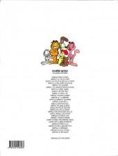 Verso de Garfield -28- Garfield fait des vagues