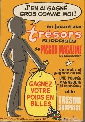 Verso de Super Picsou Géant (Suppl. Picsou Magazine) -70BIS- Numéro 70Bis