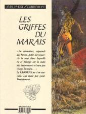 Verso de Les griffes du Marais -1- Le Raborne