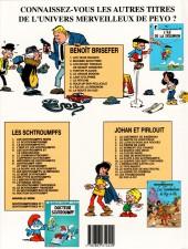 Verso de Benoît Brisefer -10- La route du Sud