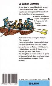 Verso de Les tuniques Bleues -7Poch- Les Bleus de la marine