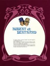 Verso de Robert et Bertrand -HS1- Sans abri