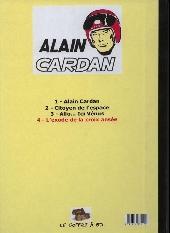 Verso de Alain Cardan -4- L'exode de la croix ansée