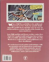 Verso de Rocketeer (The) (TPB) -INT2- Cliff's New York adventure
