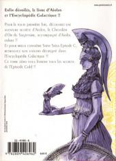 Verso de Saint Seiya Épisode G -0- Tome 0