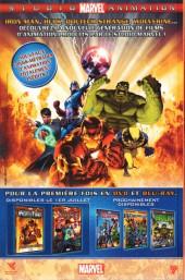 Verso de Marvel Heroes (Marvel France - 2007) -21- Avantage à domicile