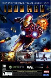 Verso de X-Force Vol.3 (Marvel comics - 2008) -3- Issue # 3