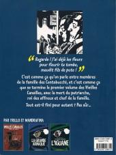 Verso de Vieilles canailles -2- L'honneur des Centobucchi
