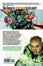 Verso de Green Lantern Corps (2006) -INT02- The Dark Side of Green