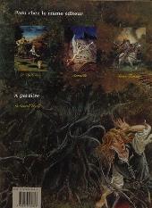 Verso de Les griffes du Marais -3- Bras-faucon