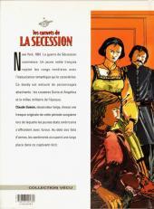 Verso de Les carnets de la Sécession -1- Le bal des dupes