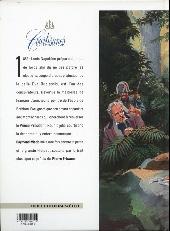 Verso de Courtisanes -3- Une palette pour Eva