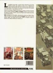 Verso de De silence et de sang -3- Dix années de folie