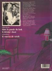 Verso de Le destin de Sarah -2- Le dernier shoot