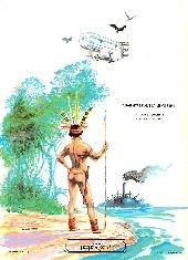 Verso de Les dirigeables de l'Amazone - Tome 1