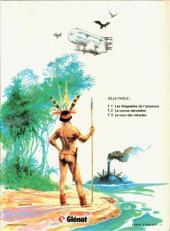 Verso de Les dirigeables de l'Amazone -3- La cour des miracles