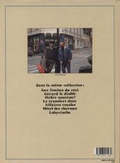 Verso de Jaunes -7- Labyrinthe