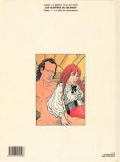 Verso de Les maîtres du silence -2- L'île aux hommes fatigués
