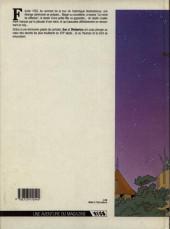 Verso de Margot l'enfant bleue -1- Le coq