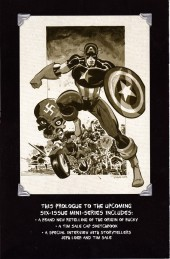 Verso de Captain America: White (2008) -0- It Happened One Night