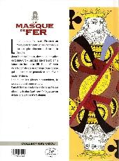 Verso de Le masque de fer (Cothias/Marc-Renier) -4- Paire de Roy