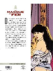 Verso de Le masque de fer (Cothias/Marc-Renier) -5- Le secret de Mazarin