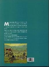 Verso de Masquerouge -5- Le roy des fous