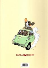 Verso de Kaplan & Masson (Une aventure de) -1- La Théorie du Chaos